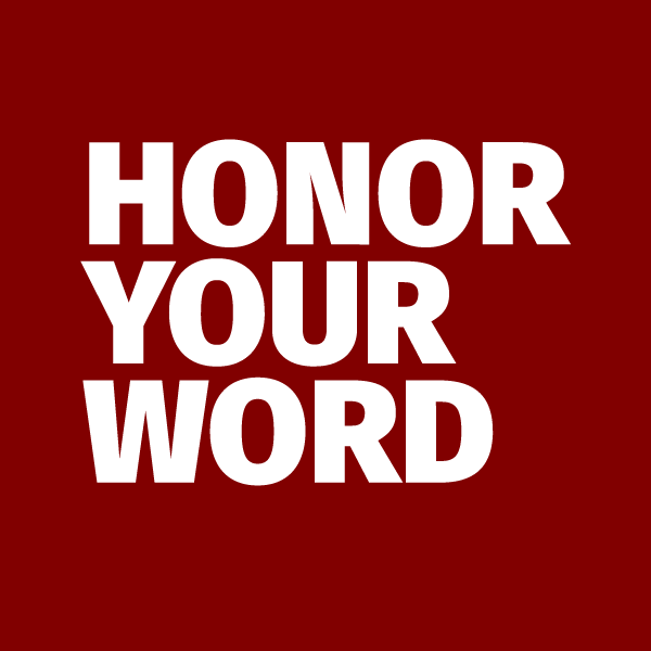 Honor Your Word
